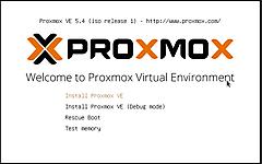 Proxmoxインストールしようぜの巻