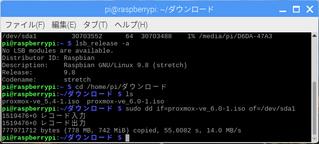 Proxmox6.0を導入しようとして躓いた話