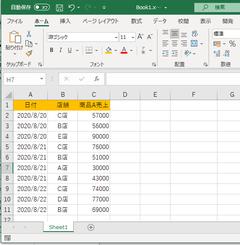 Excelの小技② ~vbaで連想配列~